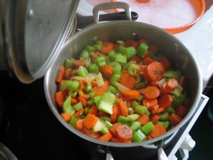 Carottes et c l ri branche aux olives amap panier blomet - Cuisiner le celeri branche ...